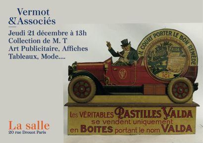 Collection M. T - art publicitaire - Affiches - Affiches de Cinéma- Tableaux - Mode