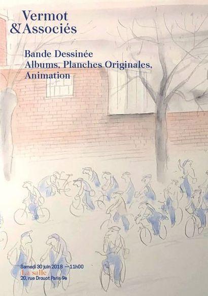 Bande Dessinée - Objets, Albums, Planches Originales - Animation Japonaise