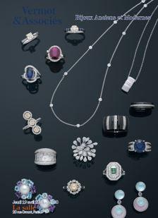 Bijoux anciens et modernes, montres, bijoux signés
