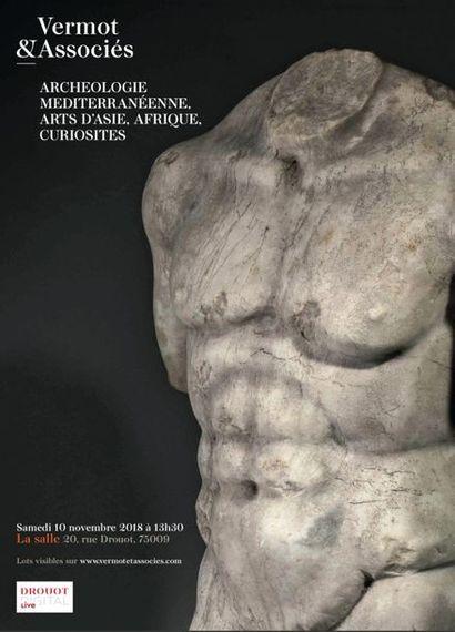 Archéologie méditerranéenne, arts d'Asie et d'Afrique, Entomologie, Arts d'Islam, Gandhara, Curiosités du monde : 600 lots