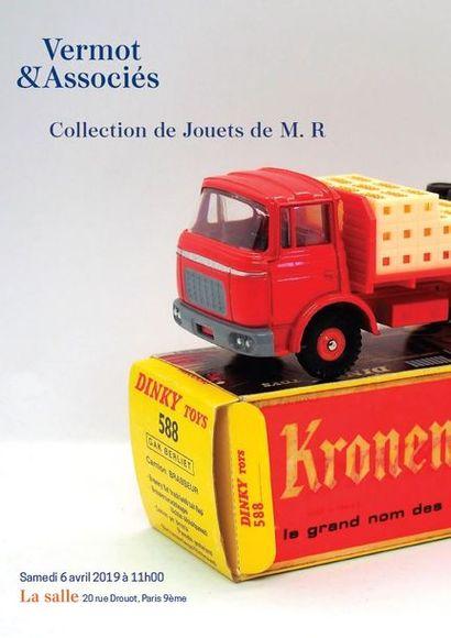 Collection de Monsieur R. - Dinky Toys, Corgi Toys, Gitanes, Quiralu, Solido, Norev, Tekno....
