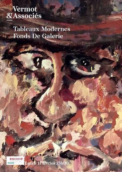 Tableaux Modernes - Fonds De Galerie