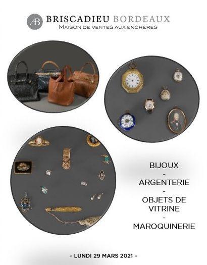 BIJOUX & ARGENTERIE - MAROQUINERIE HERMÈS - OBJETS DE VITRINE