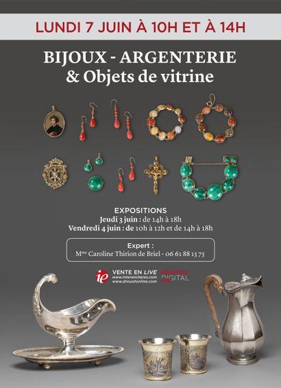 BIJOUX - ARGENTERIE & OBJETS DE VITRINE