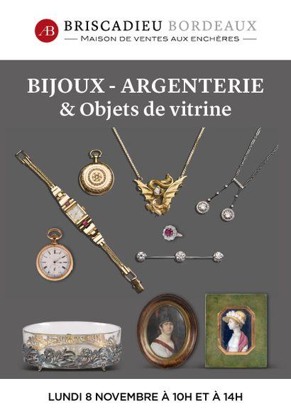 En préparation - BIJOUX - ARGENTERIE & OBJETS DE VITRINE