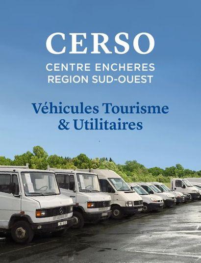 CHARIOTS ÉLÉVATEURS / VÉHICULES UTILITAIRES /  VÉHICULES DE TOURISME / RTE