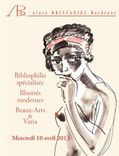 Bibliophilie, illustrés modernes, beaux-arts