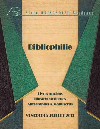 Bibliophilie : manuscrits, autographes,livres anciens et modernes