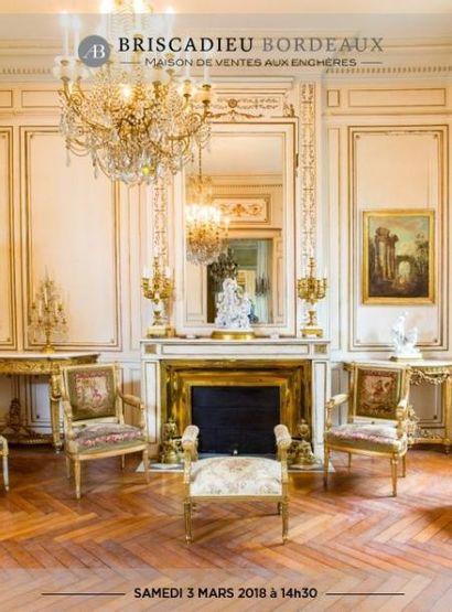 Entier mobilier d'un hôtel particulier de Bordeaux
