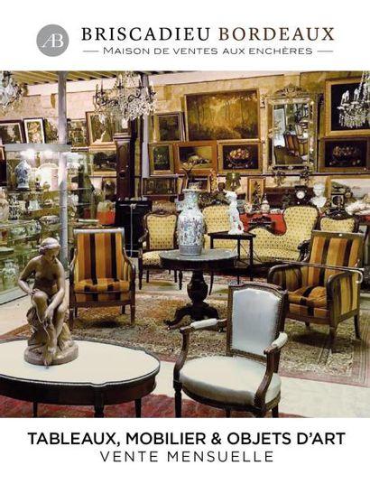 Tableaux, mobilier, objets d'art, cristallerie, faïences, arts d'Asie