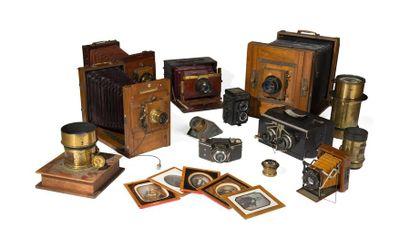 Chambres photographiques, Optiques, Daguerréotypes & Photographies du XXème siècle