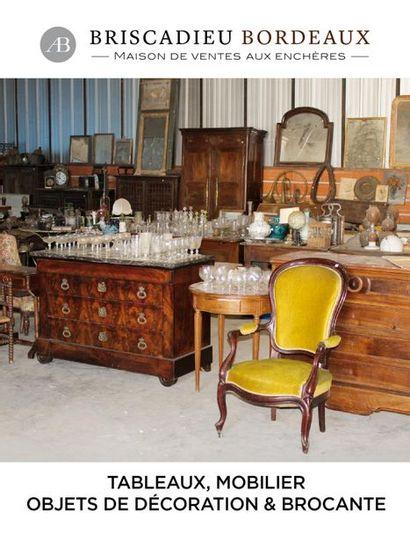 Tableaux, mobilier, objets d'art et brocante
