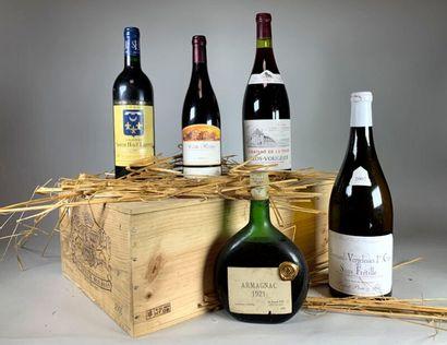 VENTE DE VIN, ALCOOLS ET ART DE LA TABLE