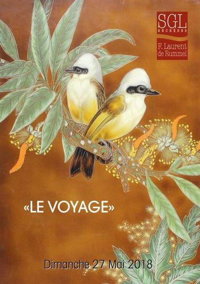 «LE VOYAGE» : photographies, affiches, livres anciens et modernes, tableaux, mobilier et objets d'art
