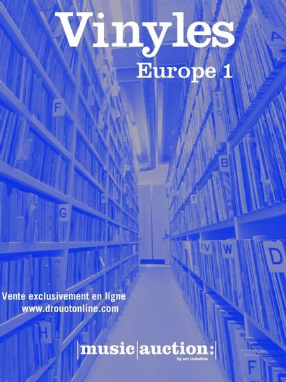 VINYLES - DISCOTHEQUE EUROPE 1