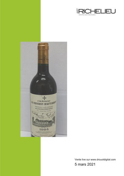 Live Auction - Wines and alcohols