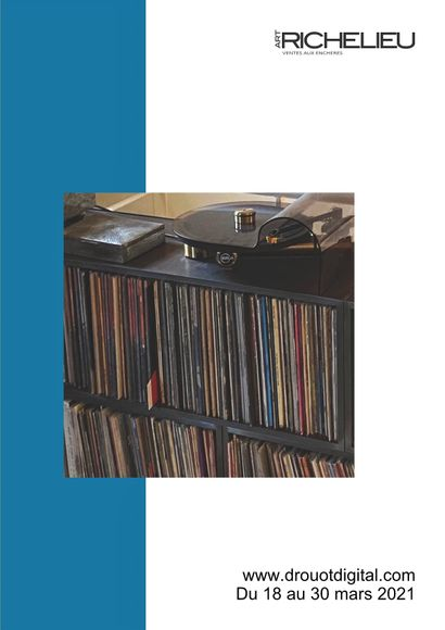 Sale in collaboration with the firm Art Valorem - Vinyl records - Jazz - Jean-Philippe Reverdot's collection
