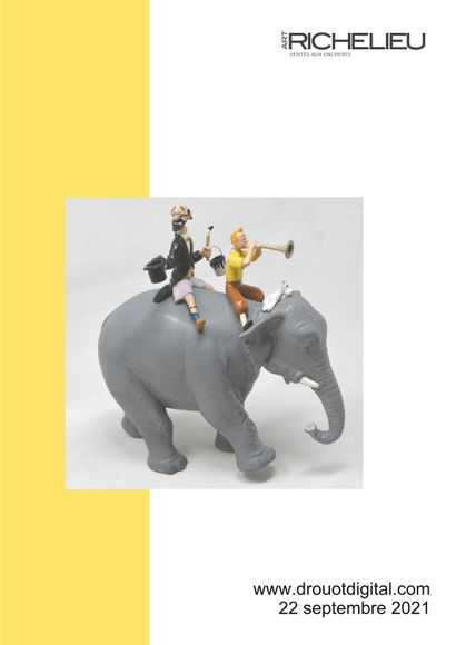 Tintin: Figurines and collectibles - live sale