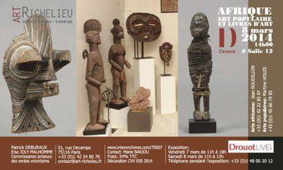 Afrique - Art populaire et livres d'art
