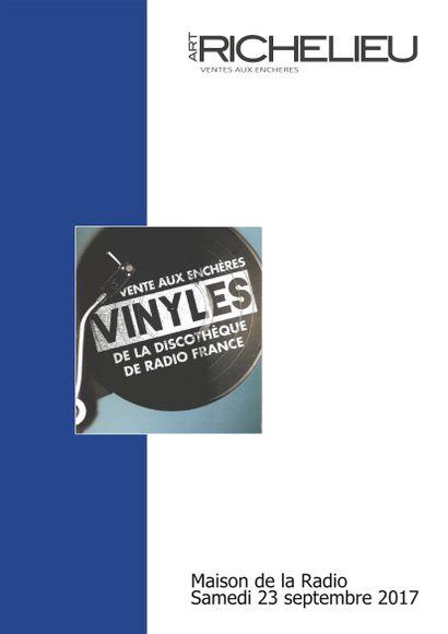 VINYLES DE LA DISCOTHÈQUE DE RADIO FRANCE
