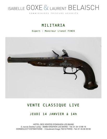 MILITARIA - BIJOUX ARGENTERIE - VENTE CLASSIQUE LIVE