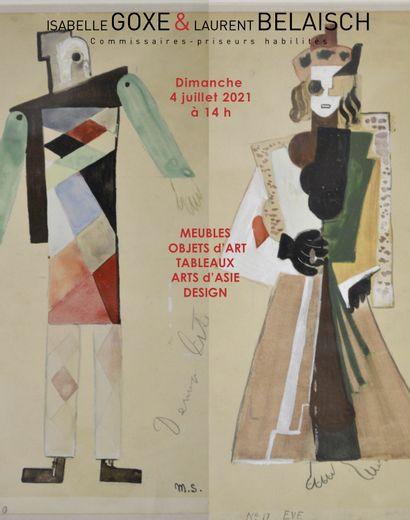 MEUBLES et OBJETS d'ART, TABLEAUX, ART d'ASIE, DESIGN