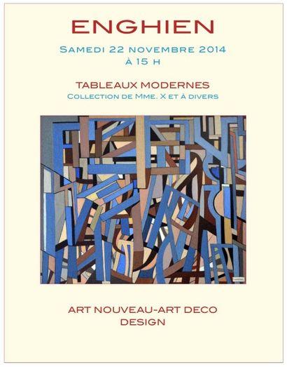 TABLEAUX MODERNES-ART DECO-DESIGN