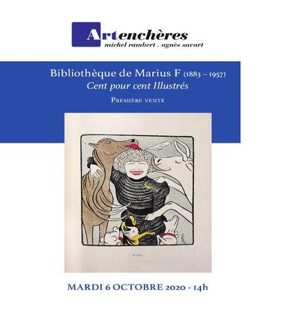 Bibliothèque de Marius F. (1883-1957) : Arts & artistes - Littérature illustrée