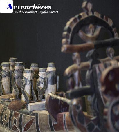 Vente I - Collection Veyret : itinéraire d'un passionné d'Afrique