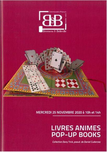 LIVRES ANIMES – POP-UP BOOKS, partie I (lot 1 À 253) et à 14 Heures partie II (LOTS 254 à 541)