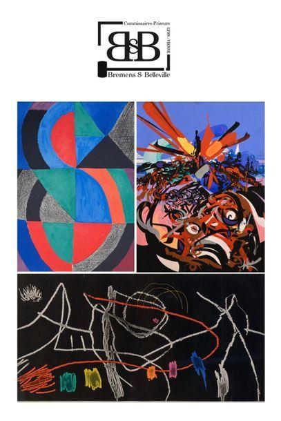 Très belle vente d'estampes du XXe provenant de trois collections particulières