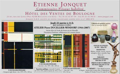 ATELIER - Meubles et objets d'art - Violon
