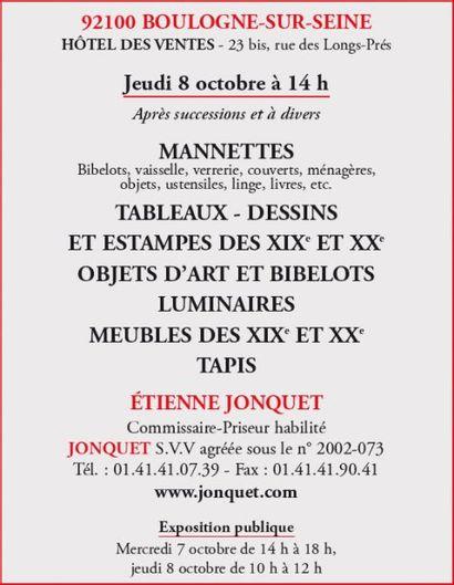 Manettes - Meubles et objets d'art