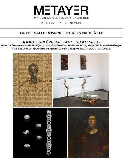 [DATE A DEFINIR] BIJOUX, ORFÈVRERIE ET ARTS DU XXÈME SIÈCLE