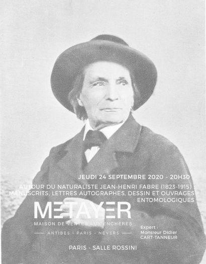 NOCTURNE : ARCHIVES JEAN-HENRI FABRE (1823-1915) ET OUVRAGES ENTOMOLOGIQUES
