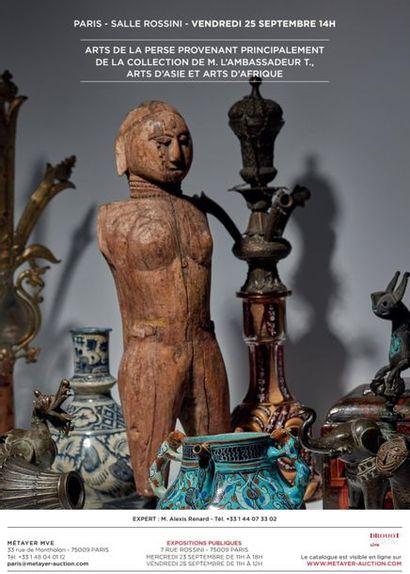 ARTS DE LA PERSE (PROVENANT PRINCIPALEMENT DE LA COLLECTION DE M. L'AMBASSADEUR T.), ARTS D'ASIE ET ARTS D'AFRIQUE