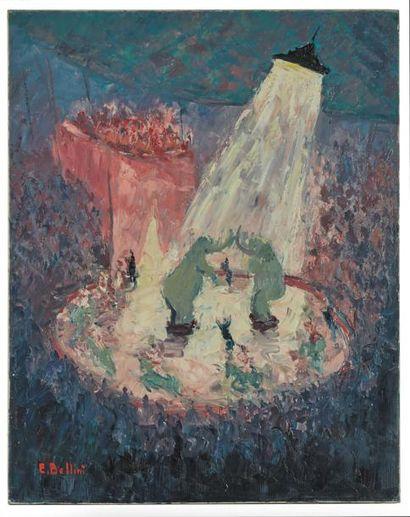 Œuvres d'Emmanuel Bellini (1904-1989), Isaac Dobrinsky (1891-1973) et Roland Chanco (1914- )