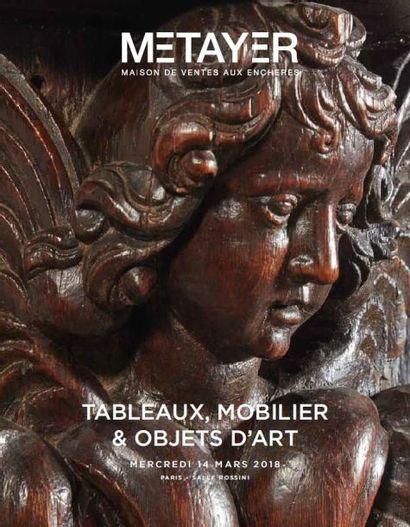 Tableaux, mobilier, objets d'art et orfèvrerie
