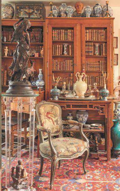 Seconde partie : tableaux, icônes, mobilier et objets d'art - Collections d'un appartement des bords de Seine