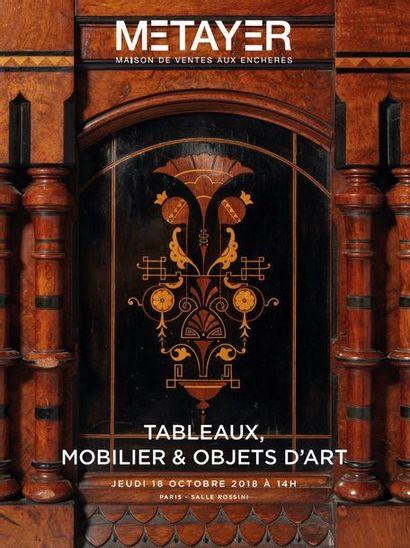 Tableaux, Mobilier, Objets d'art, Timbres