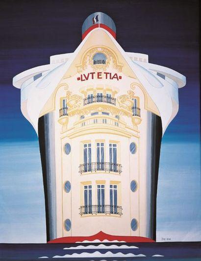 Mobilier, objets et œuvres d'art de l'Hôtel Lutetia, vente du soir