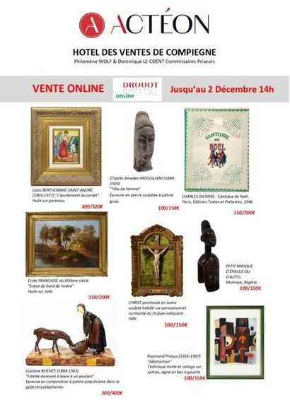 PAINTINGS, FURNITURE & ART OBJECTS