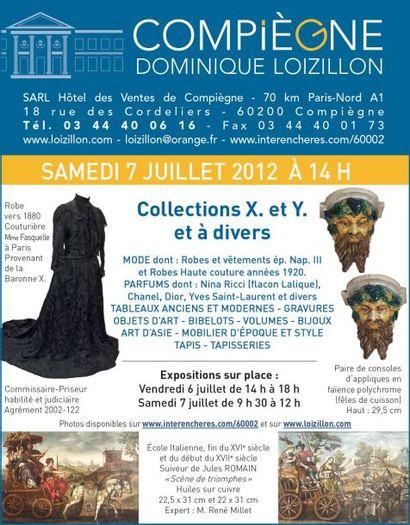 Collections X. et Y. et à divers