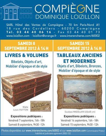 TABLEAUX ANCIENS ET MODERNES