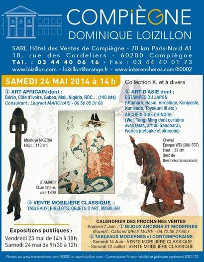 Tableaux, mobilier et objets d'art, art d'asie, art africain