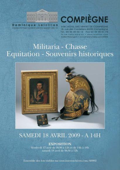 Militaria, chasse, équitation