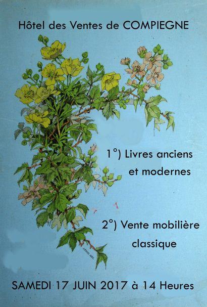 LIVRES ANCIENS ET MODERNES - VENTE MOBILIÈRE CLASSIQUE