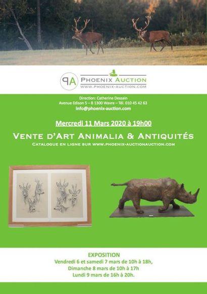ART ANIMALIER & ANTIQUITES