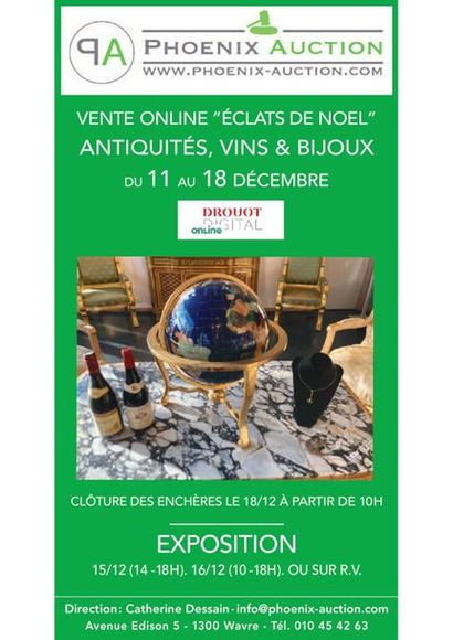 Éclats de Noël : Antiquités, Vins & Bijoux