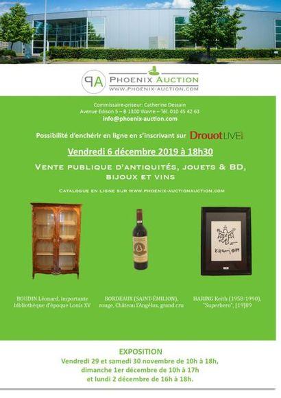 Eclats de Noël : vente publique d'antiquités, bijoux, vins, BD & jouets